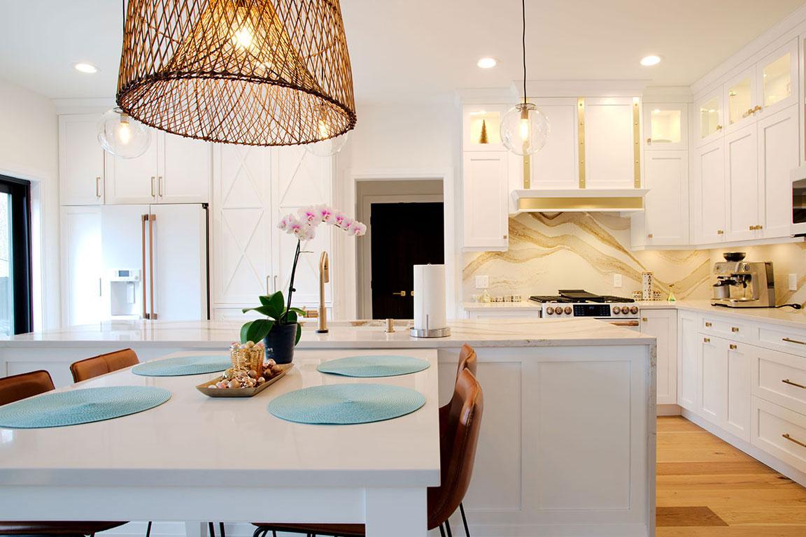 Kitchen Design Bright